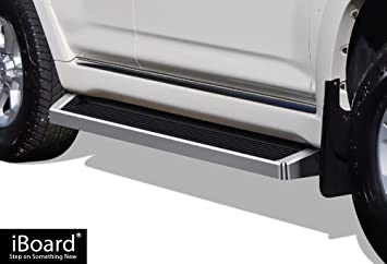 APS iBoard 6-inch Aluminum Black Powder Coated Flat Style Running Boards Nerf Bars Side Steps Step Rails Compatible with 2010-2016 Toyota 4Runner Trail /& 17-20 TRD Off-Road /& 2014-2020 SR5