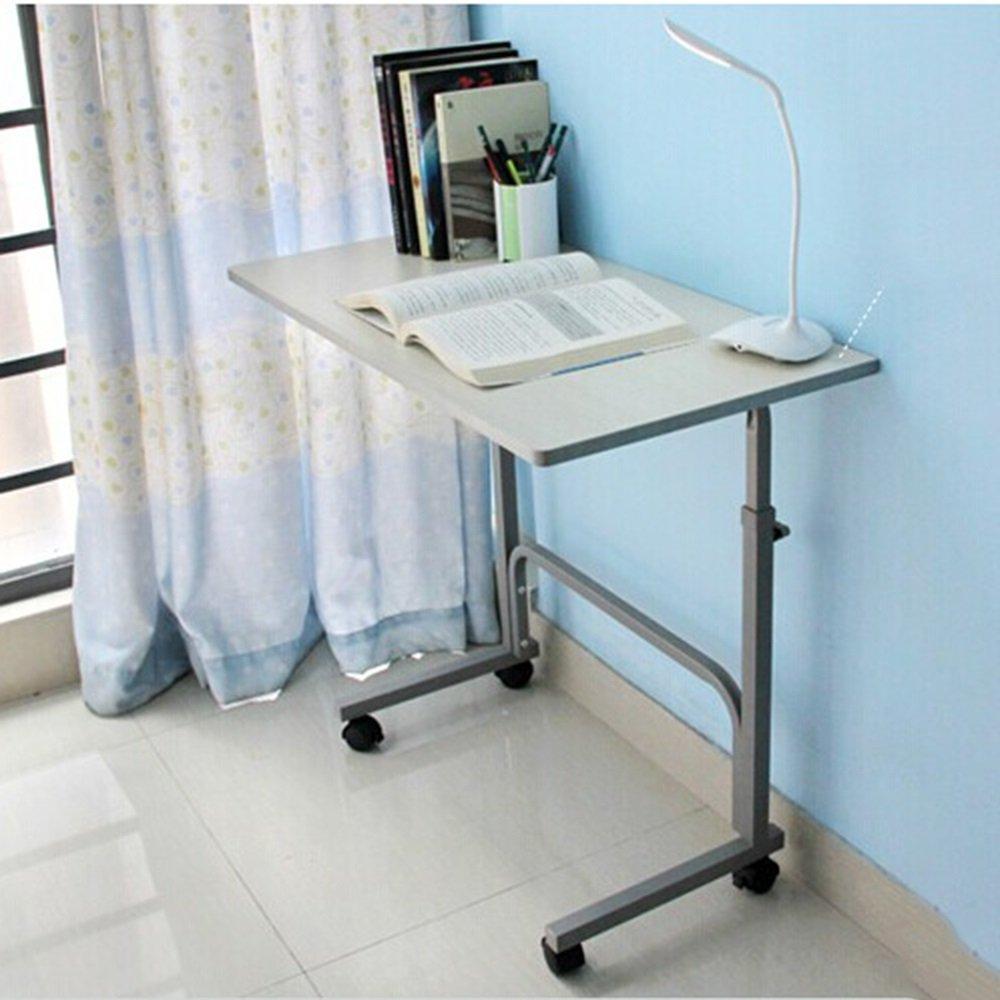 Bianco allentato tavolo dimensioni : 80*50cm dimensioni opzionale LJHA Tavolo da scrivania semplice scrivania da tavolo Tavolino da tavolo da tavolo Tavolo da apprendimento a scomparsa del dormitorio Scrivania da tavolo