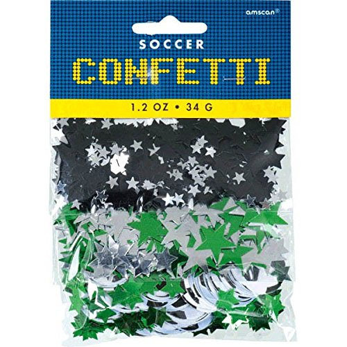 Awesome Soccer Themed Party Confetti Pack, 1.2 oz. (Confetti Shapes)