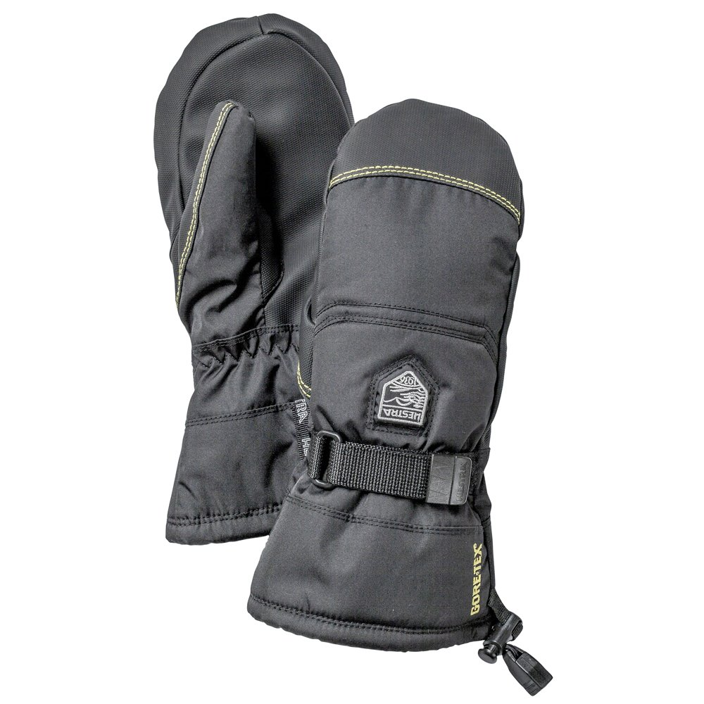 kuuluisa merkki halpa aina suosittu Hestra Gore-Tex Gauntlet Jr. Ski Mittens, Black: Amazon.co ...