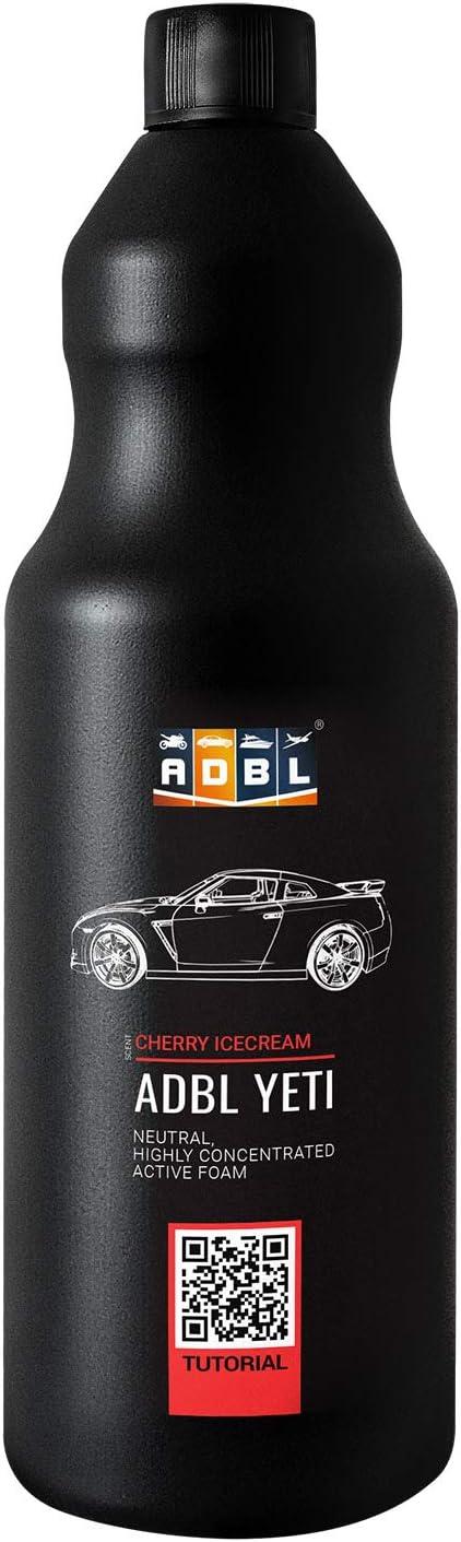 Adbl Snow Foam Shampoo Schaum Reinigungsschaum Aktivschaum Ph Neutral 5 Duftnoten In 3 Größen Erhältlich Cherry Ice Cream 1 Liter Auto