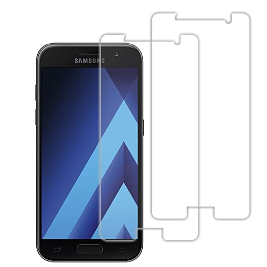5 opinioni per Samsung A52017Schermo, Acelive 2pezzi vetro temperato pellicola proteggi