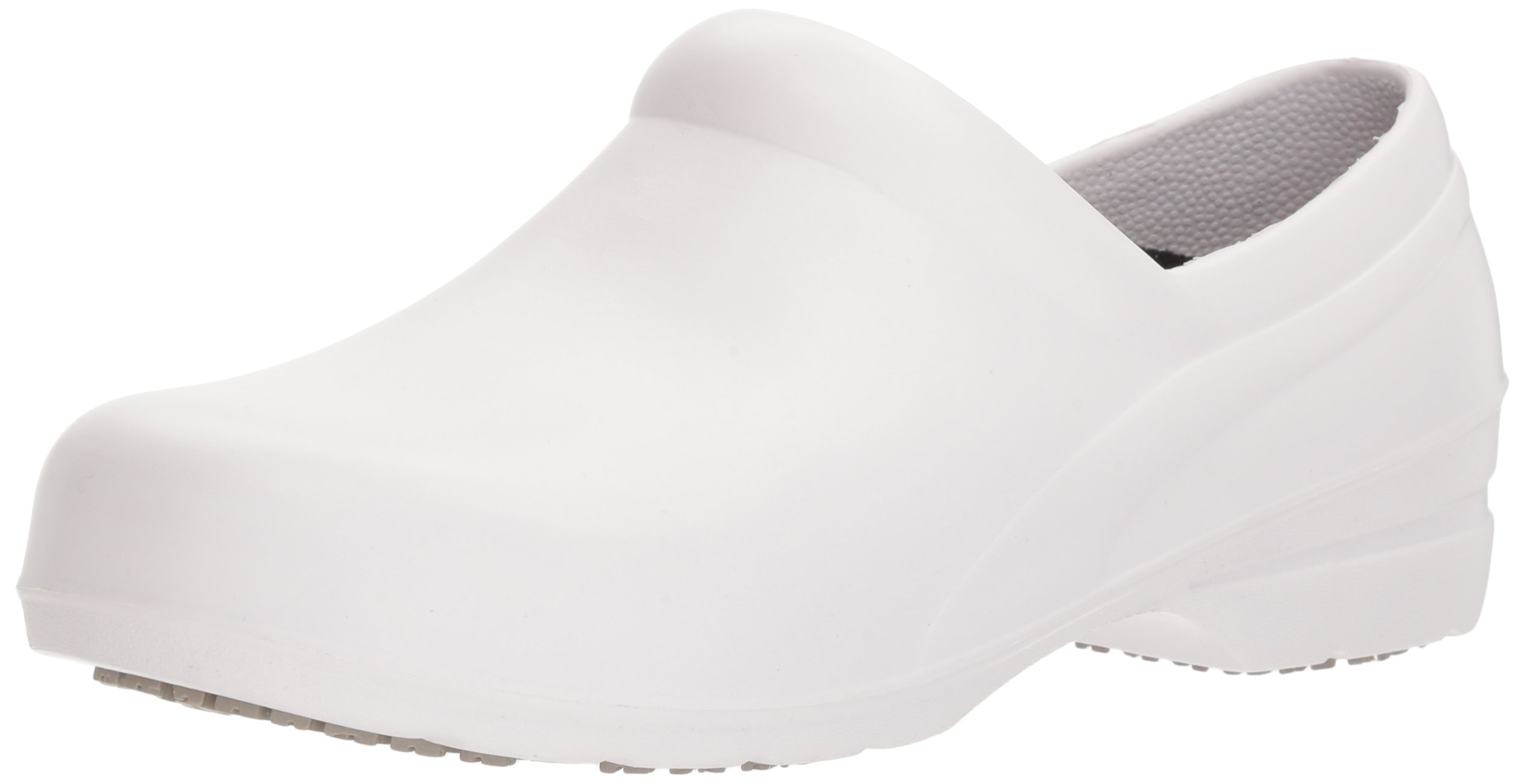 Easy Works Women's Kris Health Care Professional Shoe, White, 7 M US by Easy Works (Image #1)