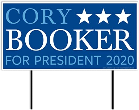 Amazon.com: VICTORYSTORE.COM Cory Booker 2020, cartel de ...