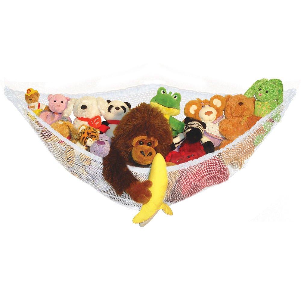Vivo /© Large Toy Soft Teddy Hammock Mesh Baby Childs Bedroom Tidy Storage Nursery Net