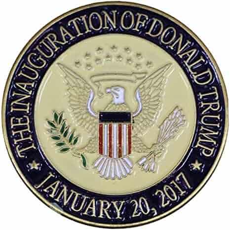 Donald Trump 2017 Presidential Inauguration Seal Lapel Pin/Hat Tac