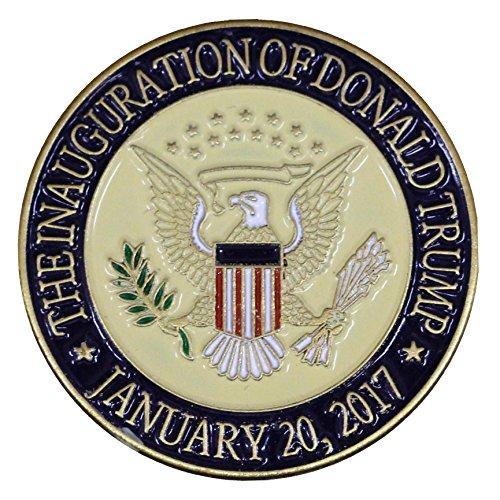 L W Bristol Classics Donald Trump 2017 Presidential Inauguration Seal Lapel Pin/Hat Tac