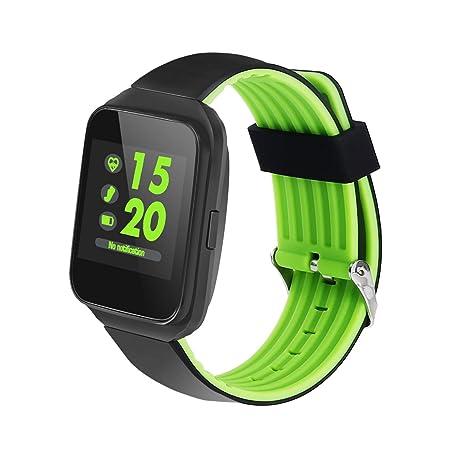 Amazon.com: KOBWA MTK2502 Bluetooth 4.0 Smart Watch with ...