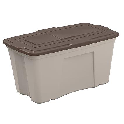 Suncast B501824 Outdoor Storage Bin 50 Gallon (3 Pack)