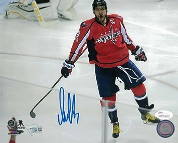 bea4636eefb Alex Ovechkin Autographed Signed Washington Capitals 8x10 Photo JSA ...