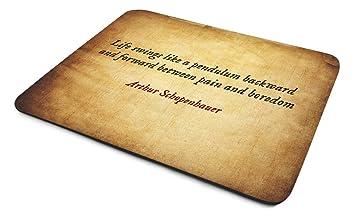 Arthur Schopenhauer Leben Schaukeln Wie Ein Pendel