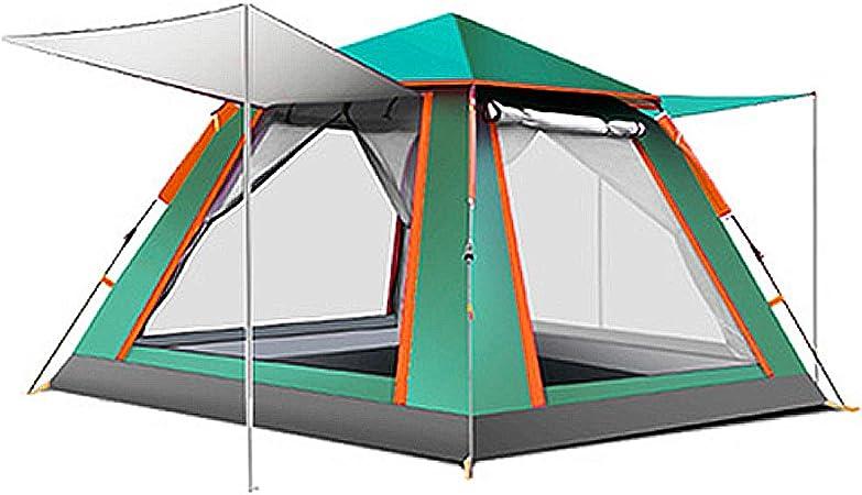 Tienda Totalmente AutomáTica, Exterior para 3-4 Personas, Tienda De CampañA Antigrata, Tienda De CampañA Doble: Amazon.es: Hogar
