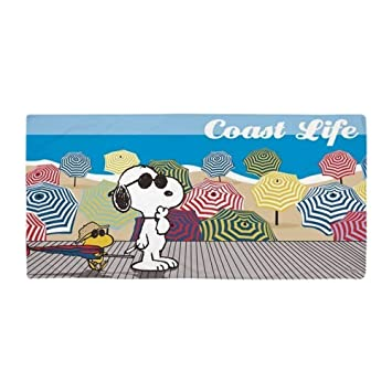 "jinhua19 Toallas de Playa baño SnoopyCoast LifeLarge Beach Towel, Soft 31""x51"" Towel"