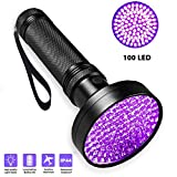 UV Flashlight Black Light UV Lights, BaiYouDa 100 LED Ultraviolet Blacklight Pet Urine Detector for Dog/Cat Urine,Dry Stains,Bed Bug, Matching with Pet Odor Eliminator