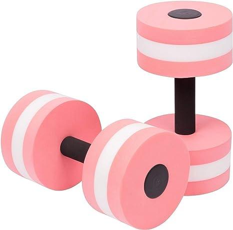 PoeHXtyy - Mancuernas de espuma aeróbica para ejercicios de ejercicios de resistencia al agua para piscina