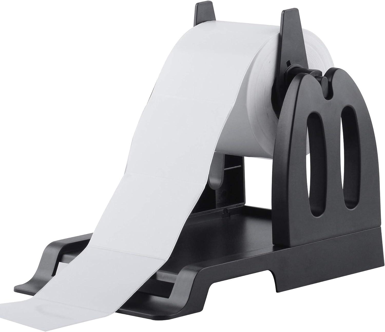 LabelRange Thermal Label Holder for Rolls and Fan-Fold Labels Thermal Printers Label Holder