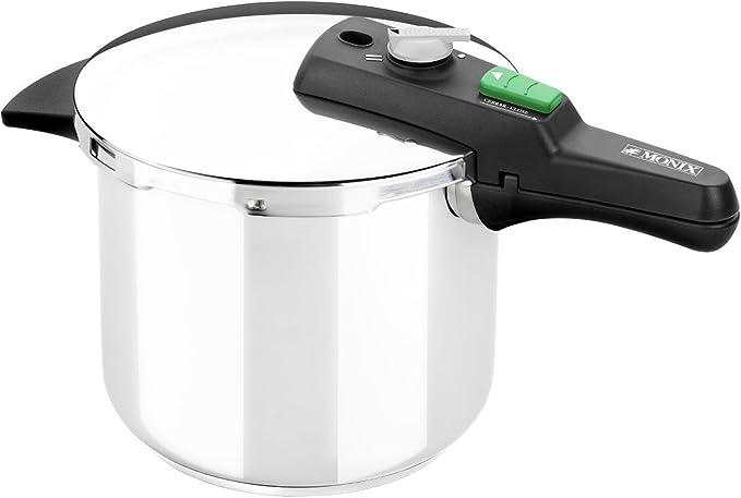 Monix Quick - Olla a presión rápida de 4 litros: Amazon.es: Hogar