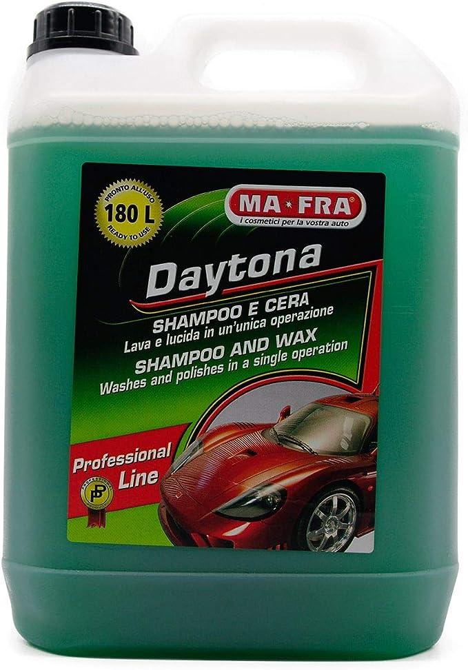 Ma Fra Daytona Shampoo Mit Pflanzlichem Wachs Zum Schutz Und Glanz 4 5 Kg Auto