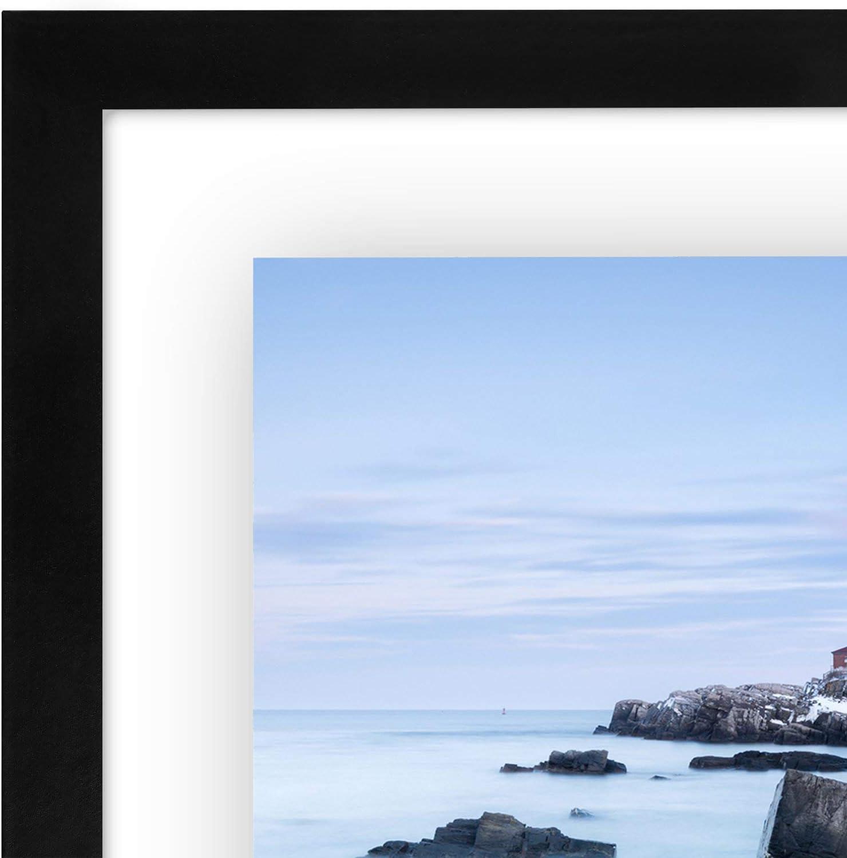 11x14 Black Americanflat Floating Frame