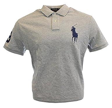 Ralph Lauren Herren Kurzarm Polo Shirt Big Pony Amazon De Bekleidung