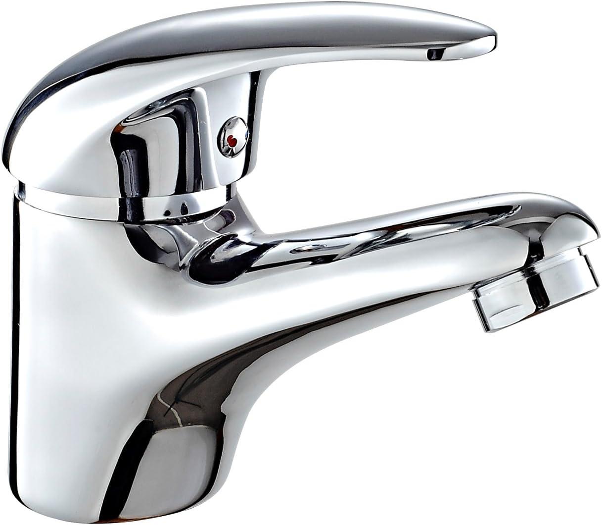 Robinet Mitigeur de lavabo chrom/é. DP Bath Naranjo