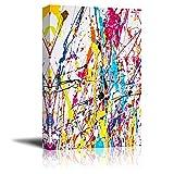 Canvas Prints Wall Art - Paint Splatter| Modern Home Deoration/Wall...