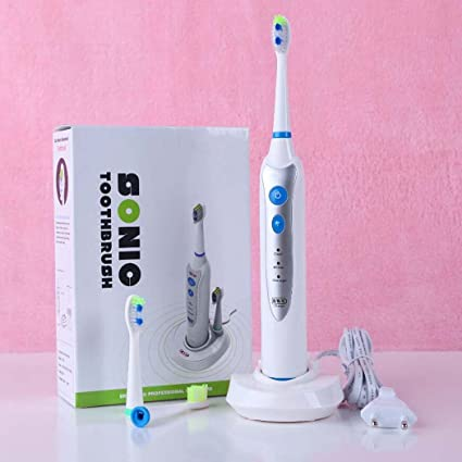 Cepillo de dientes eléctrico, cepillo de dientes eléctrico resistente al agua multifuncional, suspensión magnética