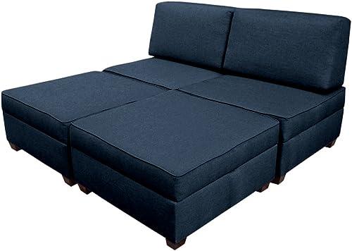 Duobed Queen Sofa Bed Blue