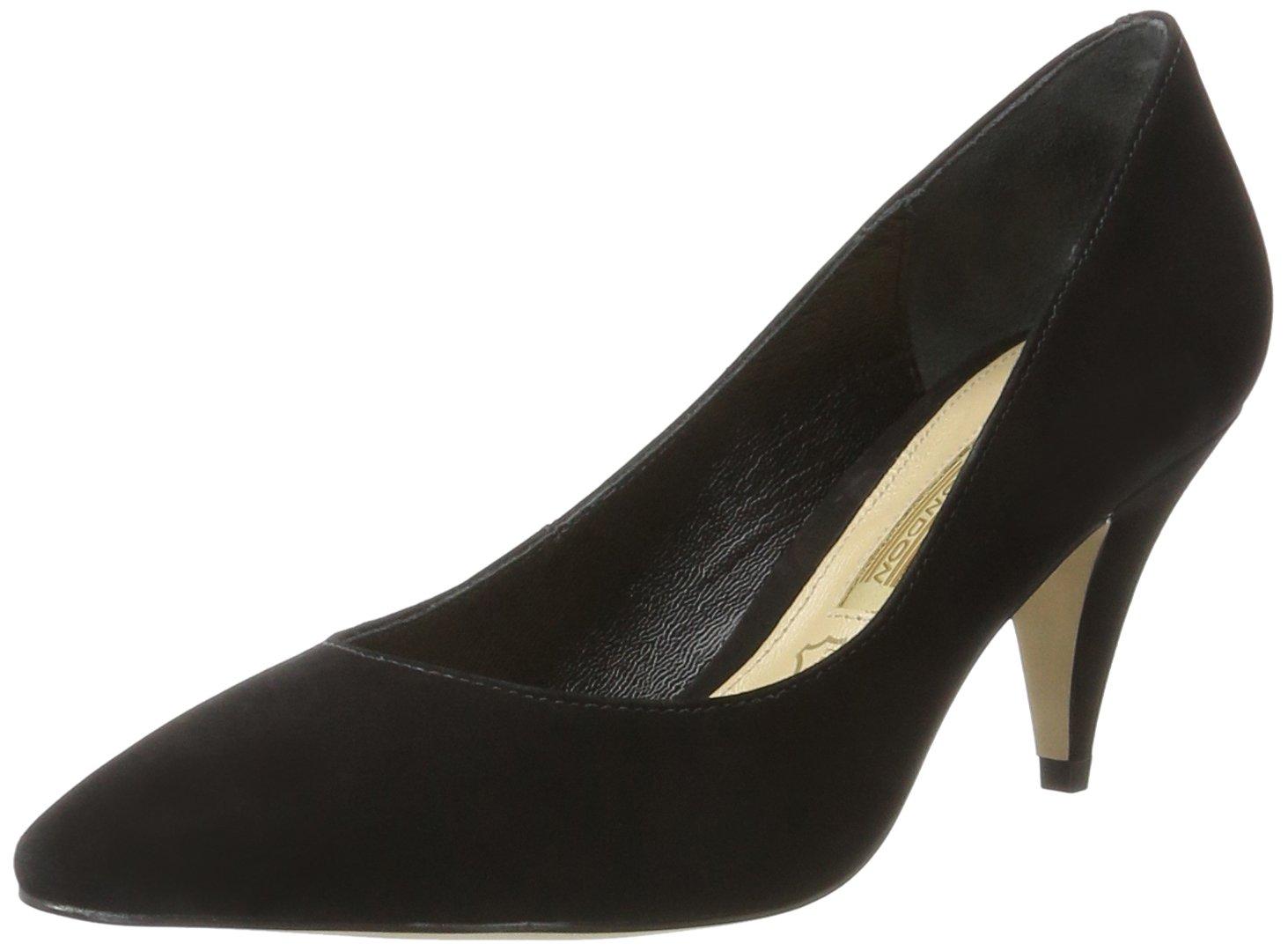 Buffalo London Zs 7446-16 Nobuck, Zapatos de Tacón para Mujer 41 EU|Negro (Black 01)