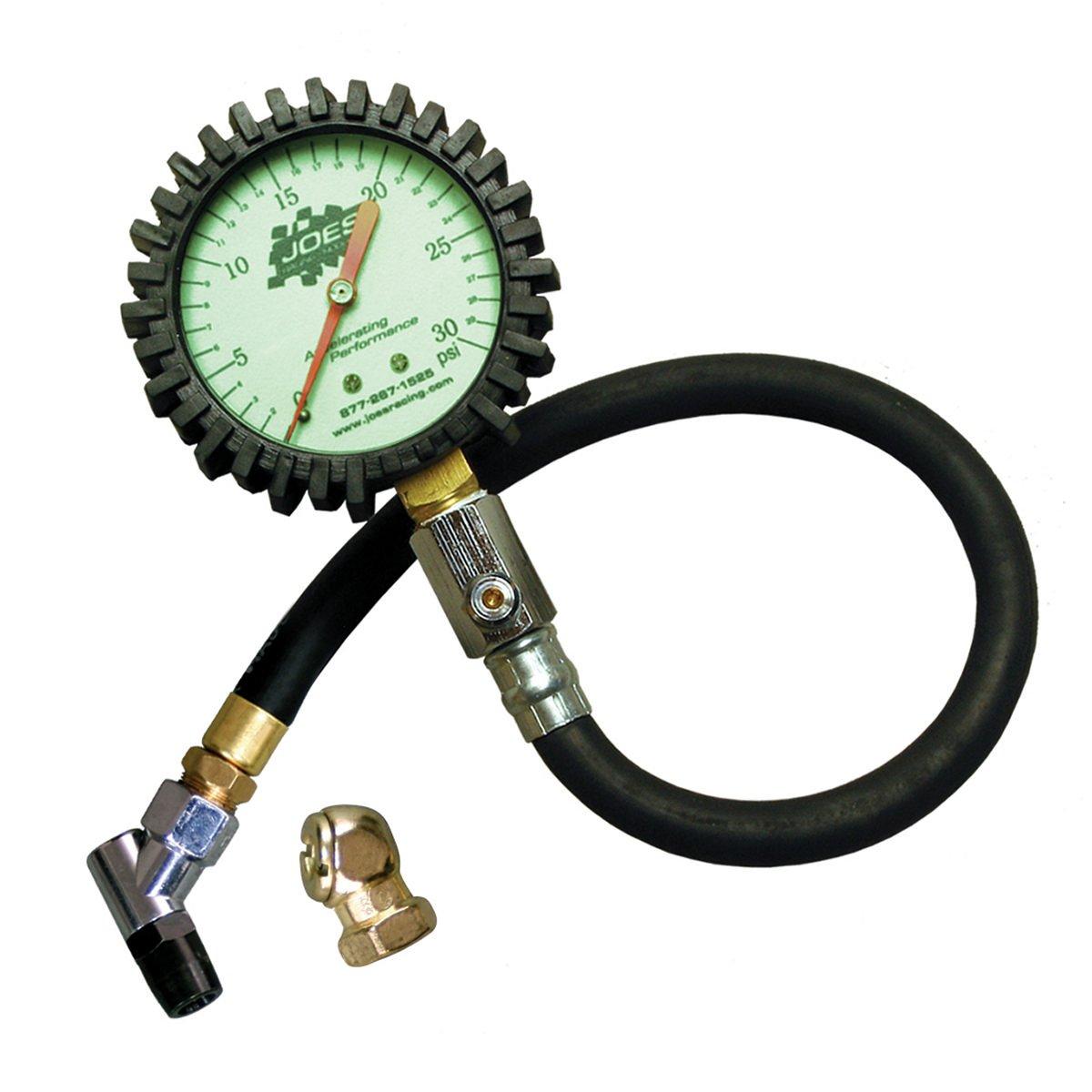 tire pressure gauge. amazon.com: joes racing 32306 (0-30) psi tire pressure gauge: automotive gauge