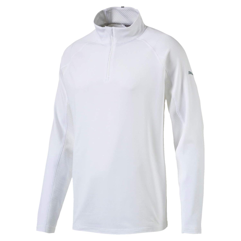 Puma Herren Core 1 4 Zip Popover Crest Pullover