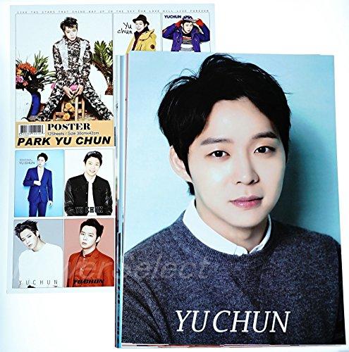 JYJ ユチョン グッズ 【 ポスター 12枚 (A3サイズ) セット 】