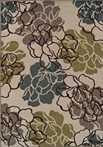 """Dalyn Marcello Ivory 8'2""""x10' Contemporary Area Rug"""
