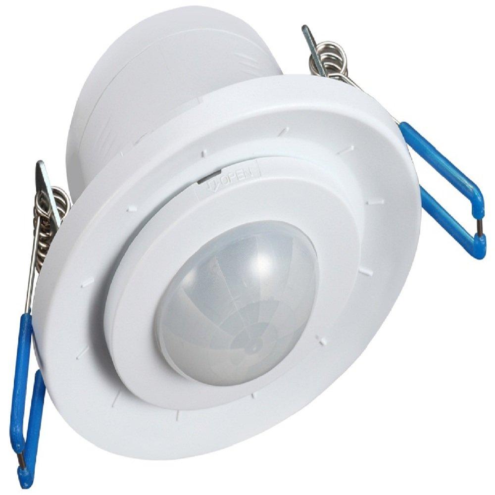 Maclean - Mce130 - Detector de Movimiento por Infrarrojos para empotrar: Amazon.es: Hogar