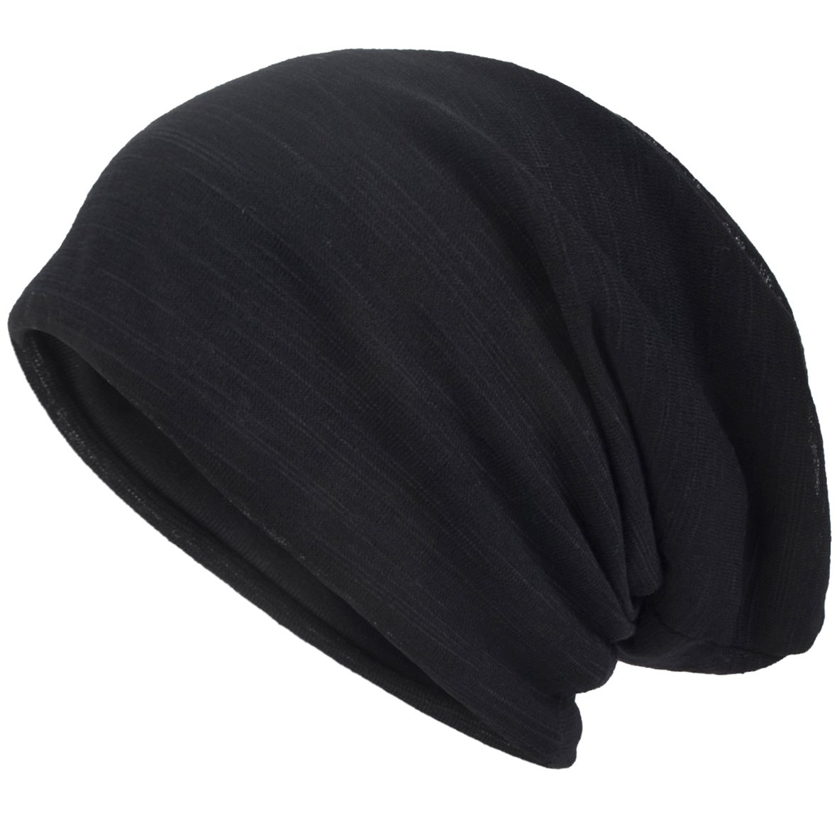 Antigua-and-Barbuda Black Beanie Hat for Men and Women Winter Warm Hats Knit Slouchy Thick Skull Cap