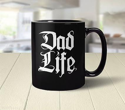 Dad Life Mug Funny Gift For New Coffee Cup