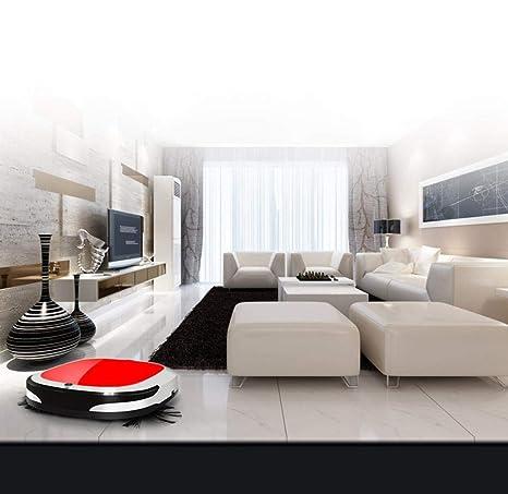 DICPOLIA Smart Home Robot Aspiradora, Controles de aplicación con Mapa de Estado de Limpieza y