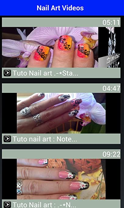 Amazon New Nail Art Videos 2016 Appstore For Android