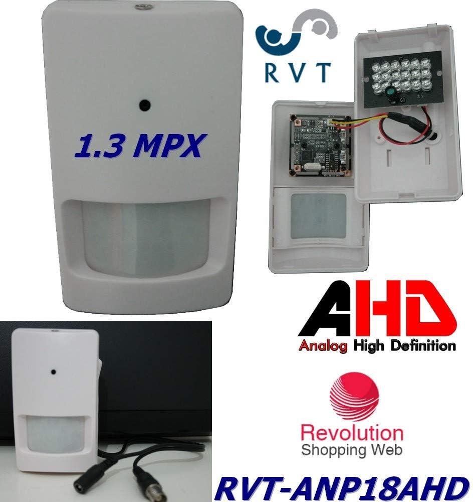 Telecamera AHD nascosta dentro sensore pir