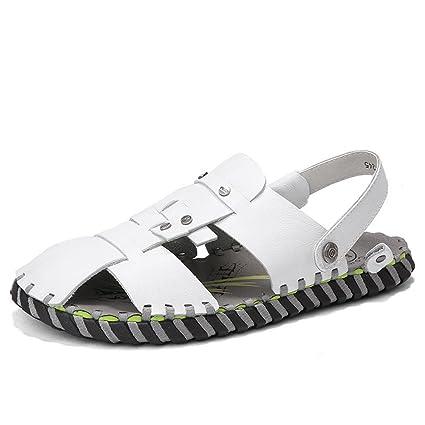Sharon Zhou Sandalias de Verano cómodas Zapatillas Dos Zapatos Usados Zapatillas cómodas Ocasionales Adecuado