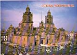 Original Uncirculated Cathedral Mexico Postcard Unused New