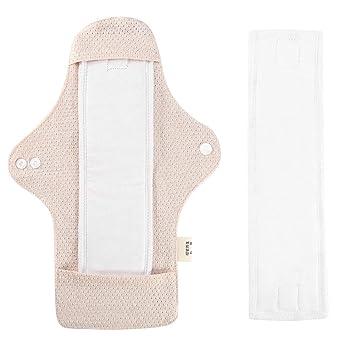 No necesita almohadilla desechable de algod/ón para incontinencia braguitas para peque/ñas fugas te mantiene seco y libre de olores. Bragas lavables