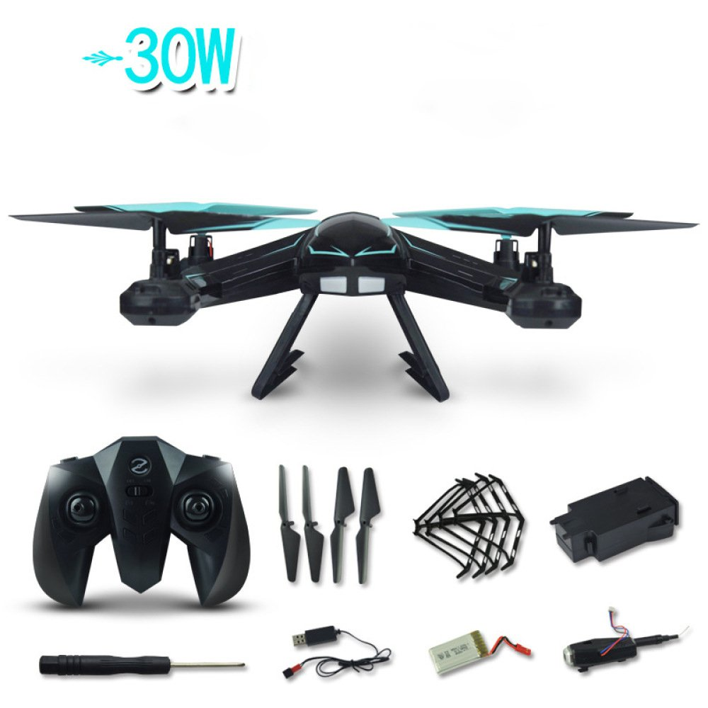 RC Drone HD Live Video Video Live Wifi Kamera UFO-Drohne 2 4G 4CH 6 Achsen Quadcopter Headless Modus Fernbedienung Ein Schlüssel Return Und 3D Flip Höhe Halten Für Kinder Und Anfänger Drone Training (Blau) 39bdd2