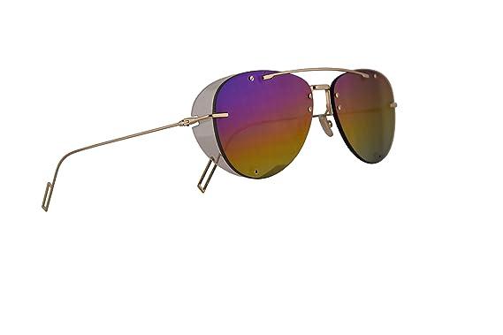 0ac8ece94b87 Amazon.com: Christian Dior Homme DiorChroma1 Sunglasses Gold w ...