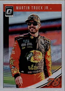 2019 Donruss Optic #13 Martin Truex Jr. Bass Pro Shops-TRACKER Boats/Furniture Row Racing/Toyota Racing Trading Card