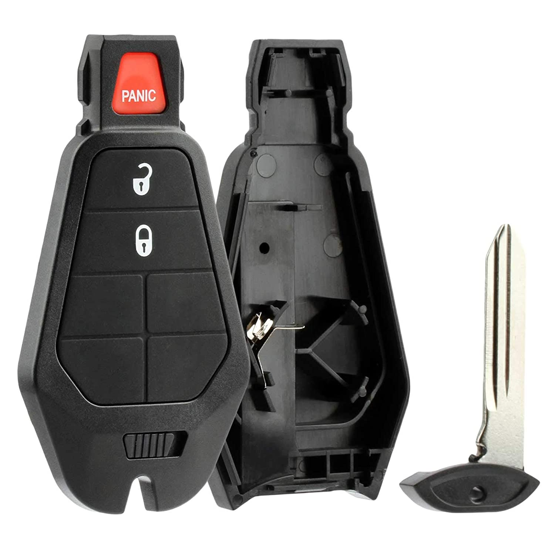 Case Shell Key Fob fits Chrysler Dodge Jeep Keyless Entry Remote