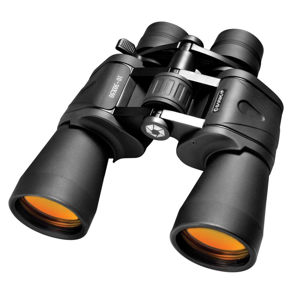 Barska高電源ズーム双眼鏡, 10 – 30 x 50ズームab10168、W/Carryケース&ストラップ B01962D3K6