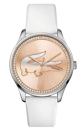 Lacoste - Reloj analógico de pulsera para mujer - 2000969: Lacoste: Amazon.es: Relojes