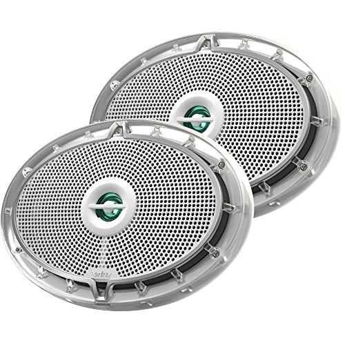 Infinity INF6952M 6952 M 6 x 9 in. 2-Way Speakers - 300 Watts, White