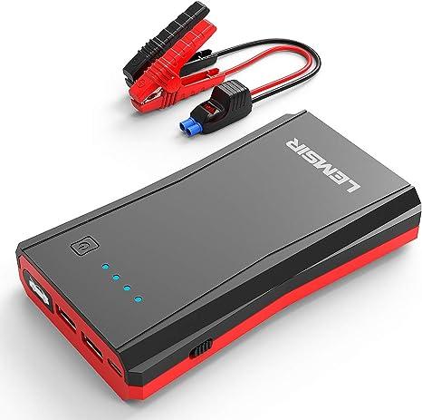 Amazon.com: LEMSIR QDSP 800A Peak Arrancador de batería ...